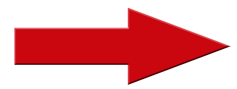 Red Arrow pointing to the right, to Courier Expert Sameday Courier quote options